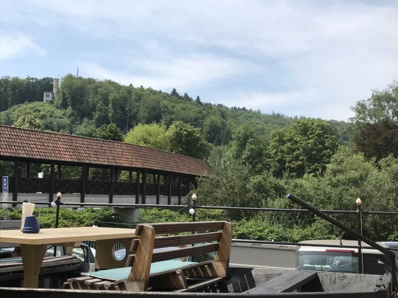Blick auf die Mühlenbrücke in Hannoversch Münden