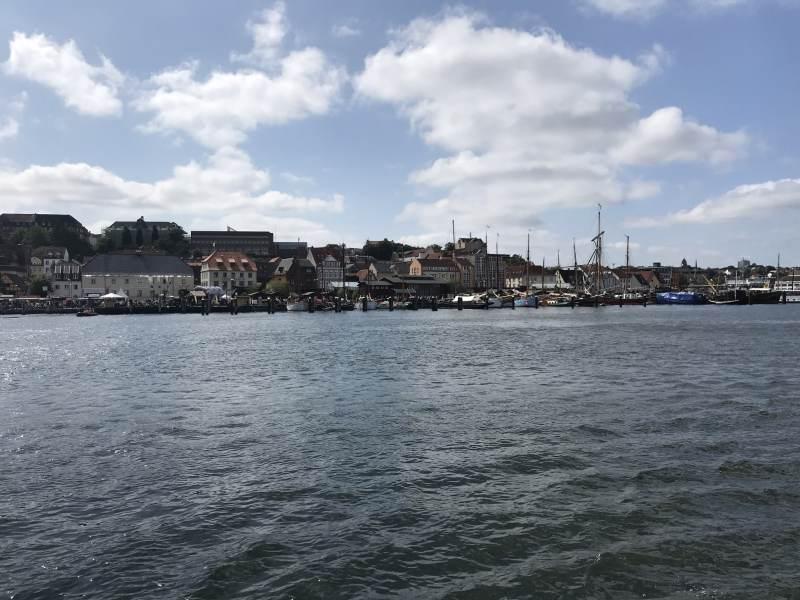 Blick auf die City von der Alexandra aus