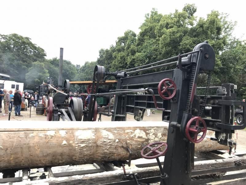 Dampfmaschine im Handwerk, beeindruckender Anschauungsunterricht
