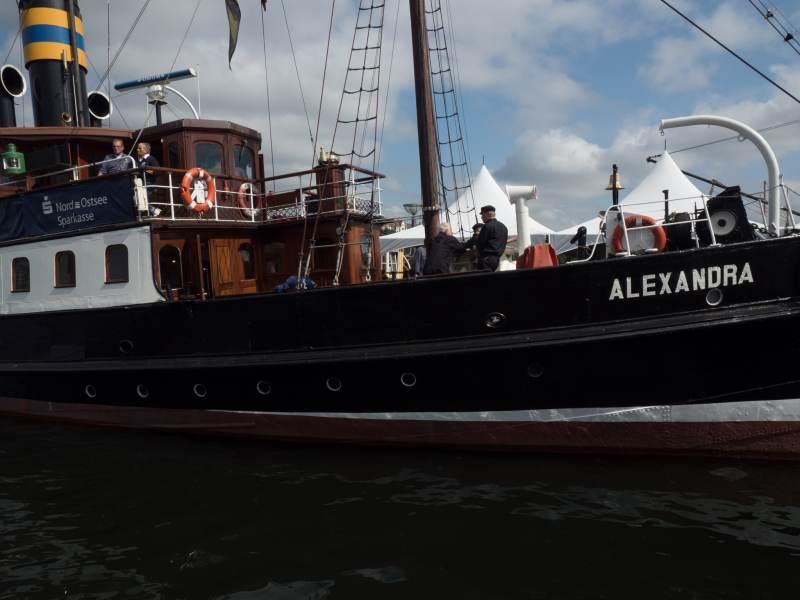 Mit der Alexandra geht es auf Tour.