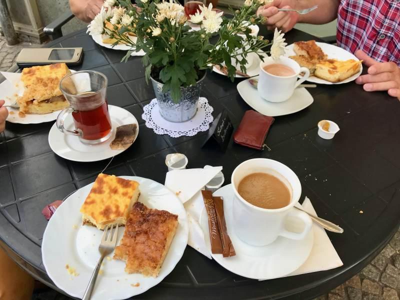 Kaffeepause in Arnstadt