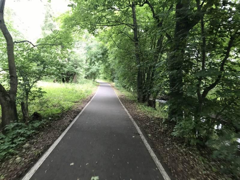 Bestens ausgebauter Ilmtal-Radweg