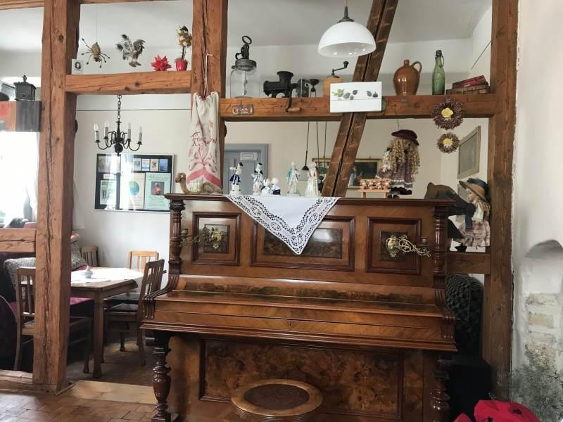 Das Museumscafé im Baumbachhaus