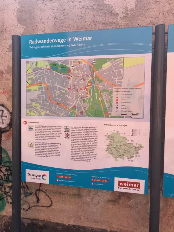 Weimar kümmert sich um Radfahrende.