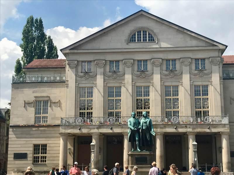 Goethe und Schiller, zwei Größen ihrer Zeit