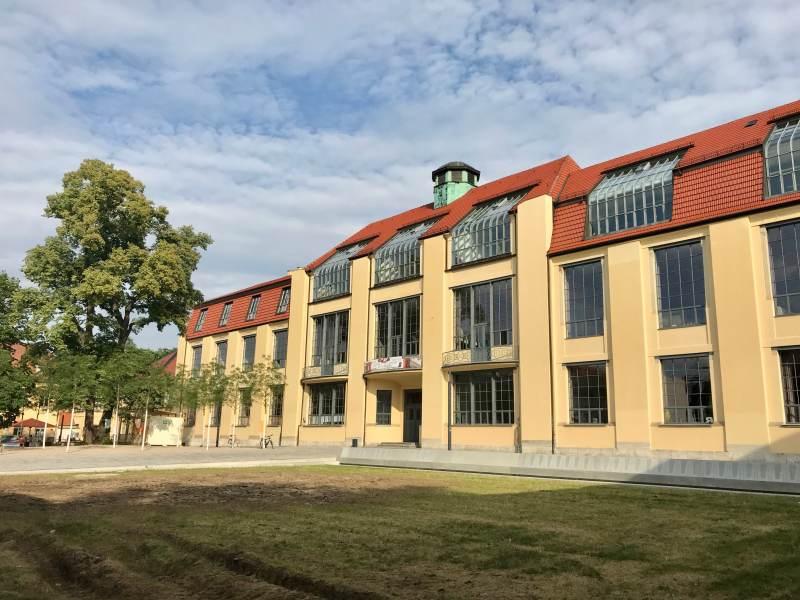 Abstecher zur Bauhaus-Uni