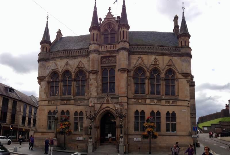 Das Rathaus in Inverness