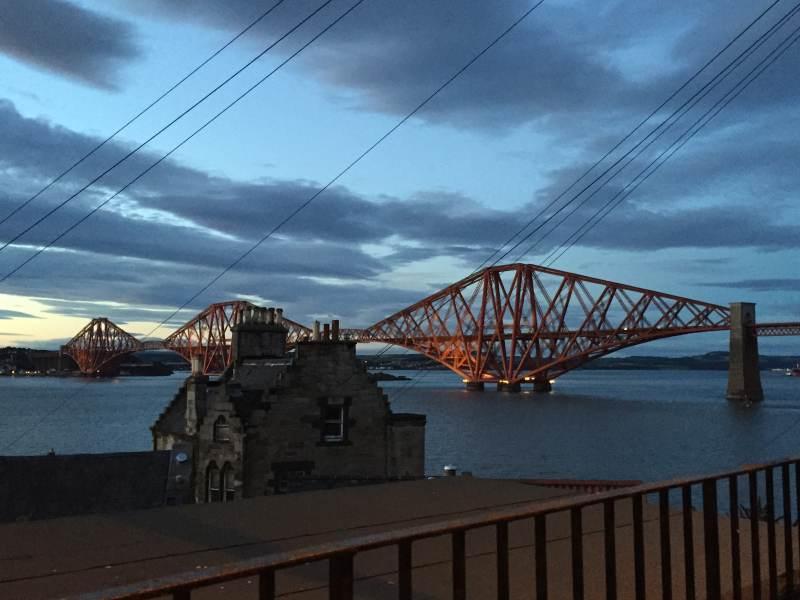 Aber am schönsten bleibt die Firth Bridge, heute nur noch Eisenbahnbrücke