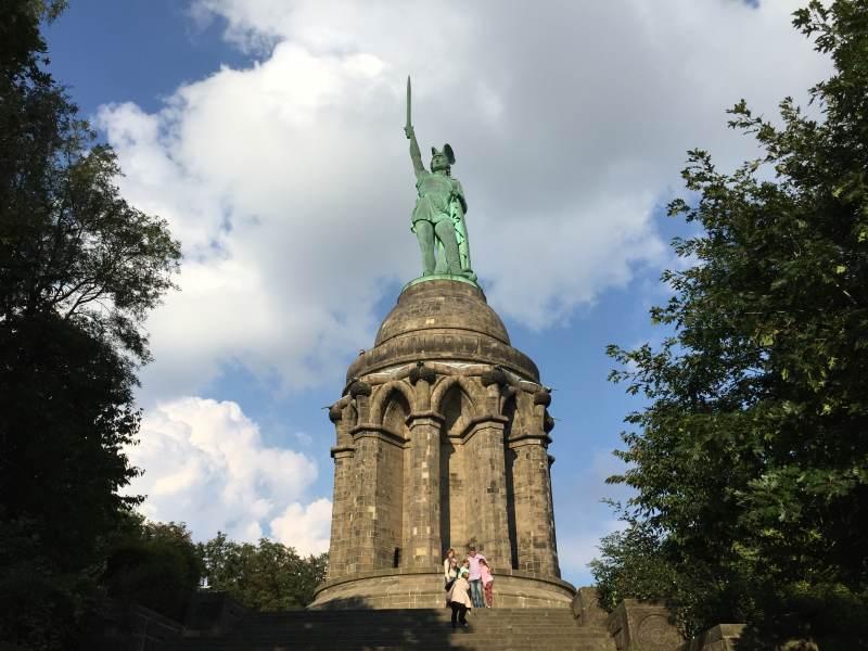 Der jetzige Hermann am originären Standort