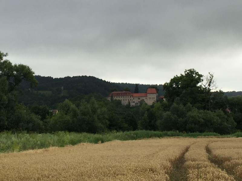 Blick auf die Creuzburg
