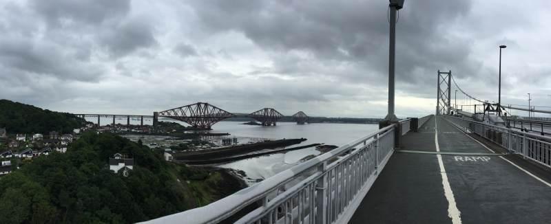 Blick auf die Firth Bridge