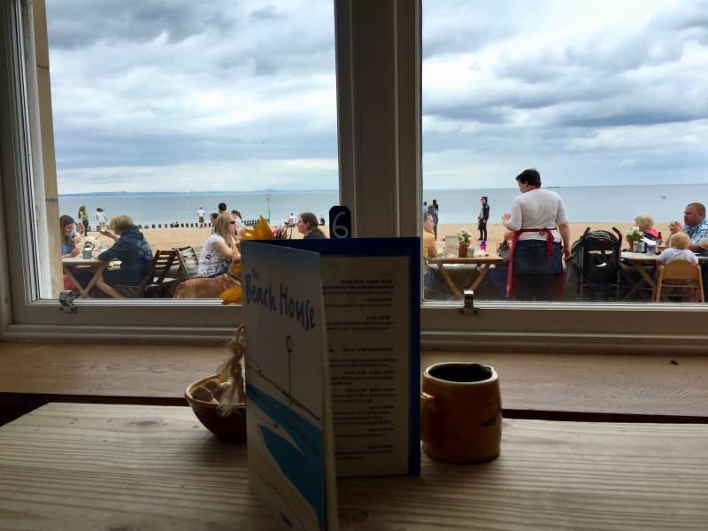 Blick aus dem Beachhouse