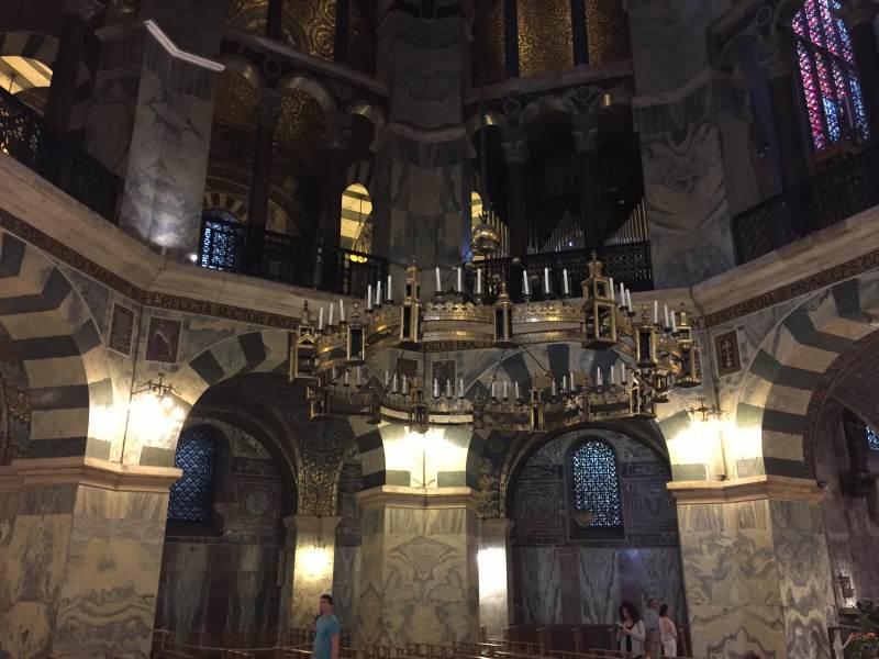 Stippvisite im Aachener Dom