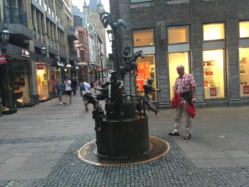Interessanter Brunnen