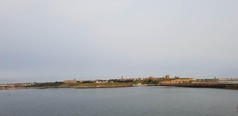Blick auf Tynemouth