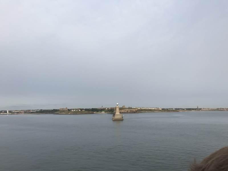 Hafeneinfahrt Newcastle
