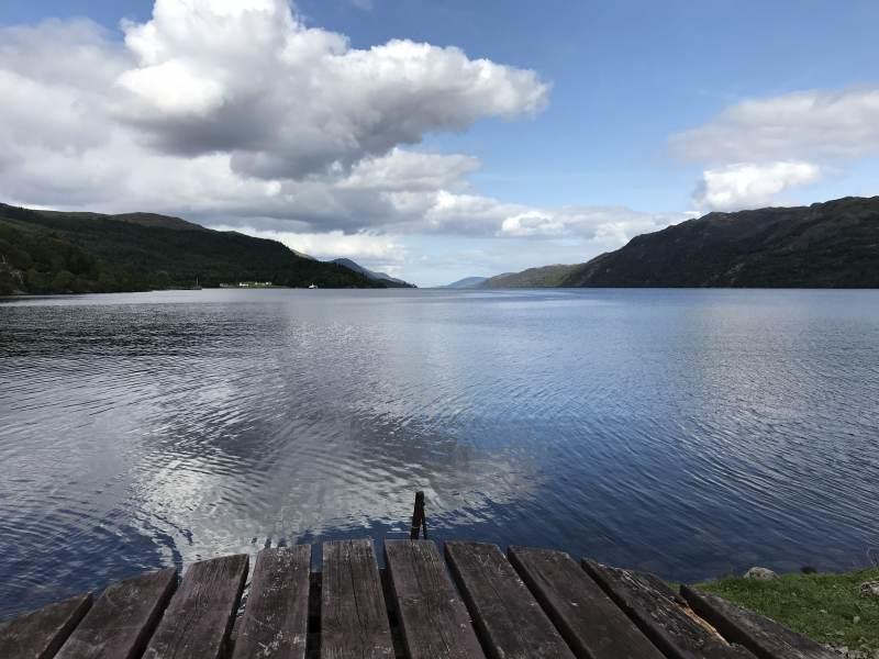 Still ruht der See ... und Nessie auch