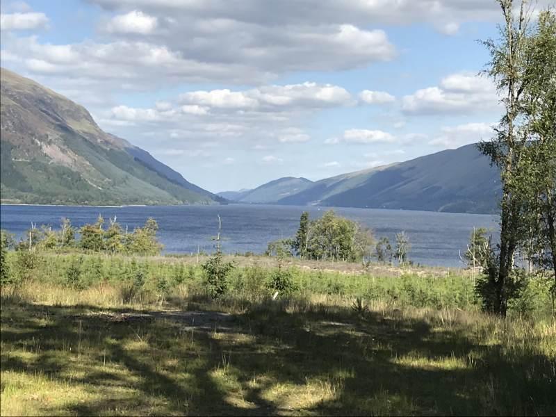 Am südwestlichen Ende von Loch Lochy