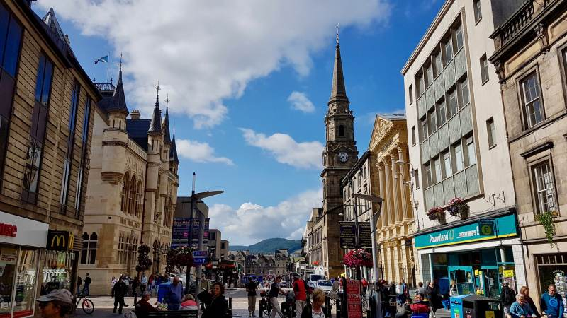 Highland-Flair in Inverness