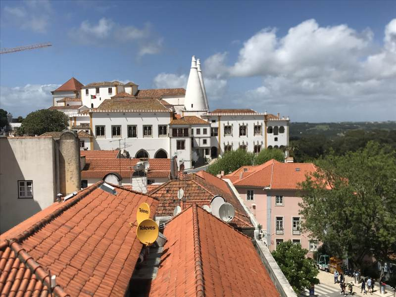 Sintra mit Blick auf den Palácio Nacional