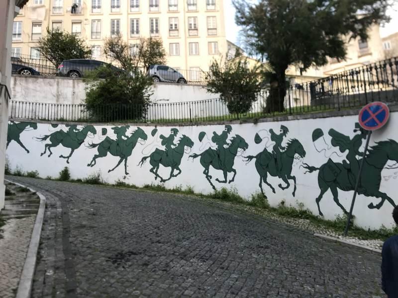 Graffitikunst allerorten