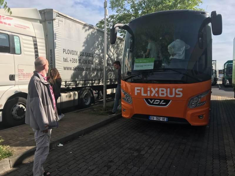 Tja, Flixbus ist unsere Rettung