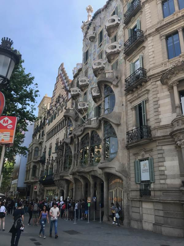 Gaudí lässt grüßen: das Casa Batlló.