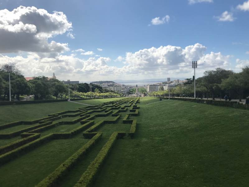 Blick in den Parque Eduardo VII