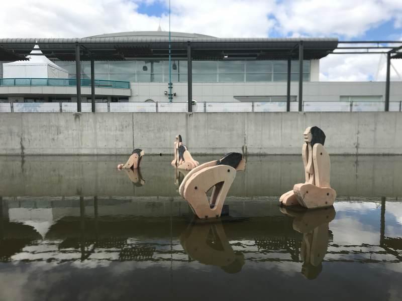 Wasserkunst im Expo-Gelände