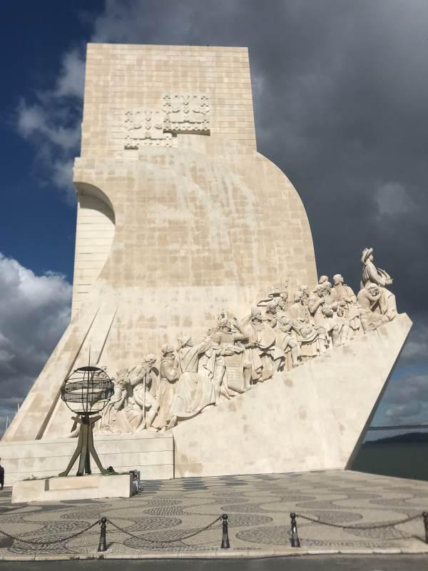 Das Padrão dos Descobrimentos (Denkmal zu Ehren der Entdecker), 1960 zum 500. Todestag von Heinrich dem Seefahrer errichtet