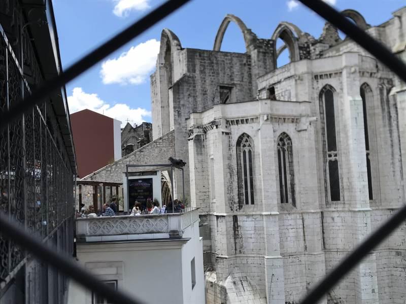 Blick in Richtung Convento do Carmo