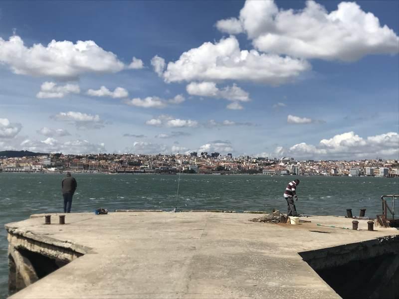 Wunderbarer Blick auf Lissabon