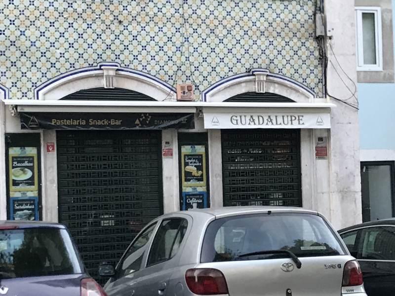 Hier gibt's die leckersten Pasteles de nata, leider heute geschlossen ...