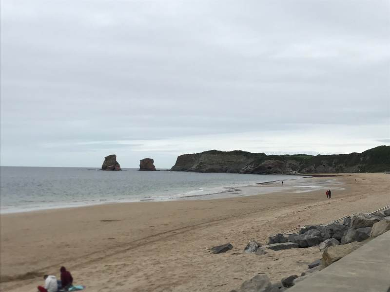 Der Strand vor unserem Hotel