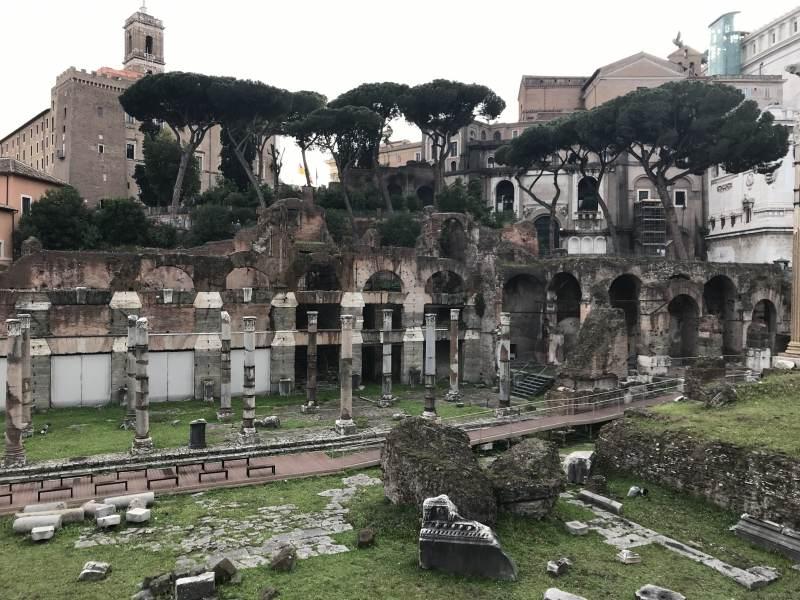 Blick ins Forum Romanum