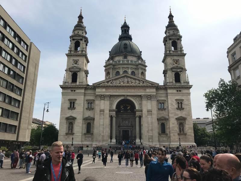 Die imposante Sankt-Stephans-Basilika