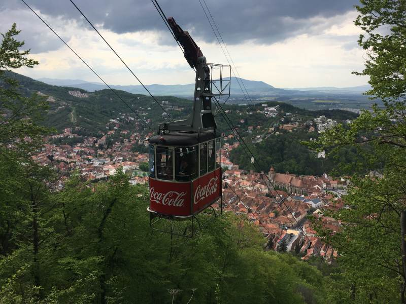 CocaCola ist auch überall dabei!