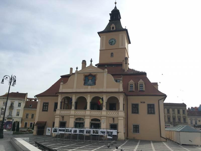 Das alte Rathaus von Brașov