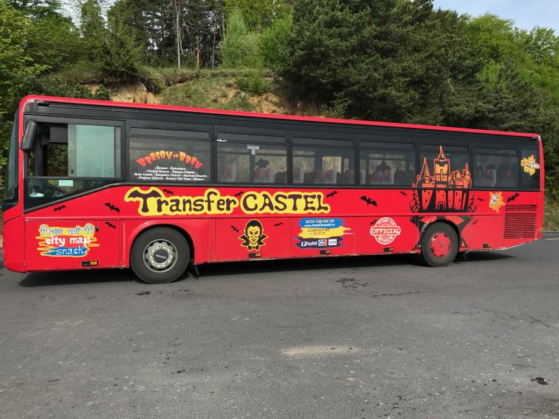 Der Tourbus – ein Hauch von Disney