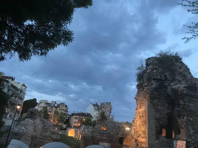 Römische Ausgrabungsstätten gibt es hier viele.