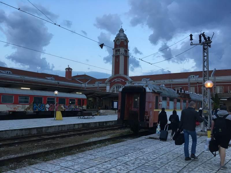 Der Bahnhof von Varna