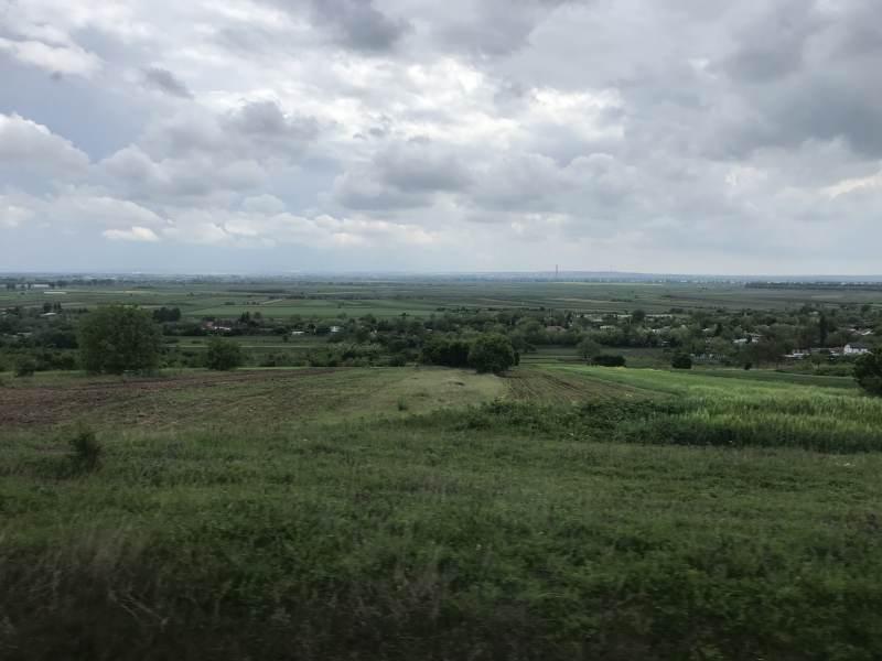 Wieder viel Landschaft, wenige Siedlungen