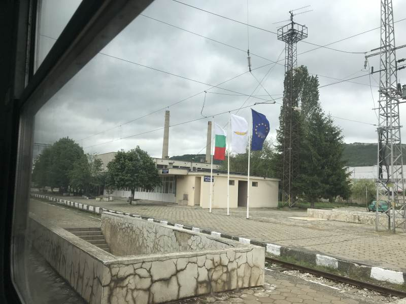 Wo immer gebaut wird, ist die EU-Flagge nicht weit.