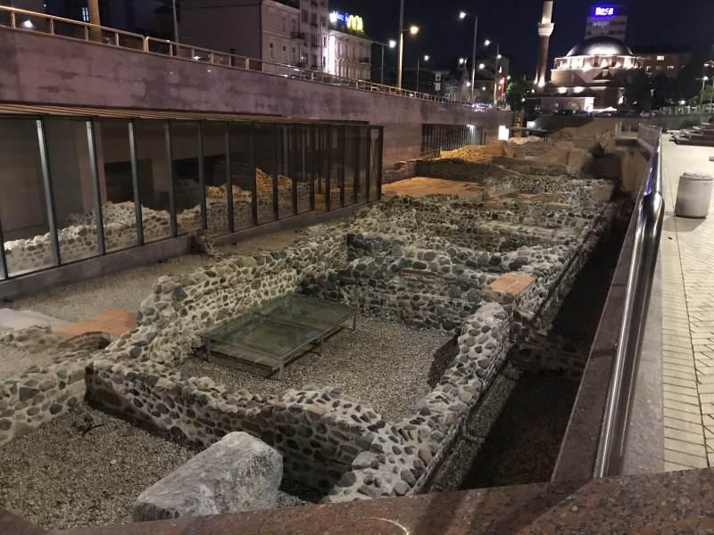 Auch in Sofia waren die Römer.