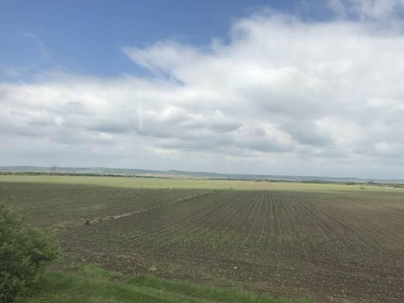 Wieder weite Felder