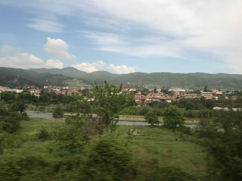 Hügeliges Bulgarien
