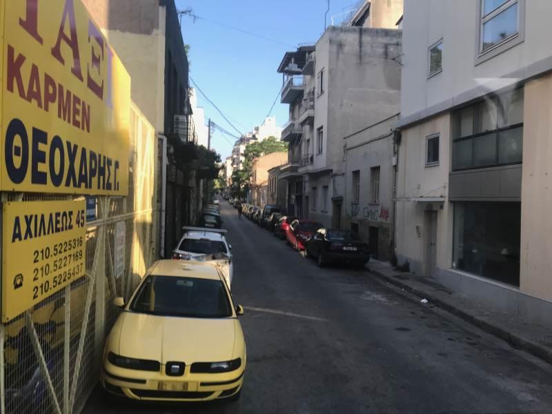 Erste Athener Innenstadtstraße ... na ja