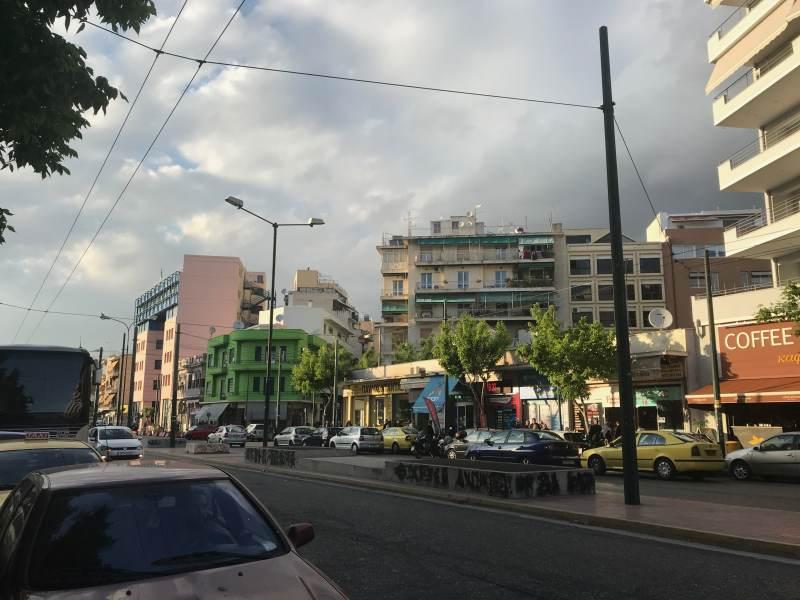 Athen in Bahnhofsnähe